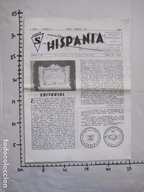 Militaria: HISPANIA- REVISTA DEPORTADOS E INTERNADOS POLITICOS - NUM. 83 - AÑO 1985 - VER FOTOS-(V- 10.936) - Foto 6 - 86157164