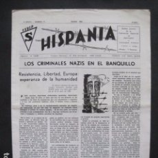 Militaria: HISPANIA- REVISTA DEPORTADOS E INTERNADOS POLITICOS - NUM. 77 - AÑO 1983 - VER FOTOS-(V- 10.938). Lote 86157632