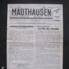 Militaria: MAUTHAUSEN - REVISTA DEPORTADOS E INTERNADOS POLITICOS - NUM. 184 - AÑO 1977 - VER FOTOS-(V- 10.940). Lote 86157848