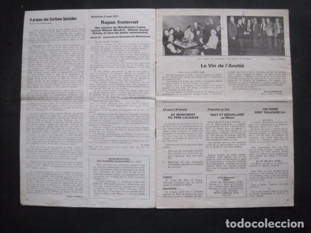 Militaria: MAUTHAUSEN - REVISTA DEPORTADOS E INTERNADOS POLITICOS - NUM. 184 - AÑO 1977 - VER FOTOS-(V- 10.940) - Foto 2 - 86157848