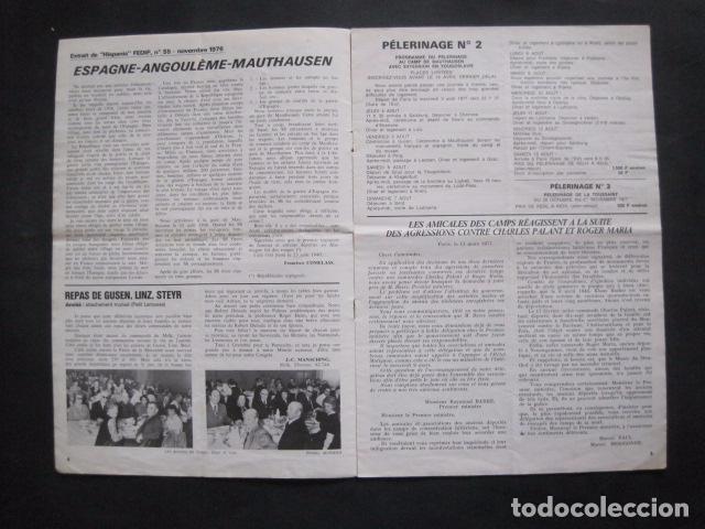 Militaria: MAUTHAUSEN - REVISTA DEPORTADOS E INTERNADOS POLITICOS - NUM. 184 - AÑO 1977 - VER FOTOS-(V- 10.940) - Foto 3 - 86157848