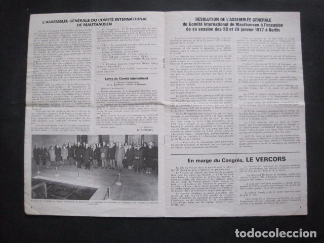 Militaria: MAUTHAUSEN - REVISTA DEPORTADOS E INTERNADOS POLITICOS - NUM. 184 - AÑO 1977 - VER FOTOS-(V- 10.940) - Foto 4 - 86157848