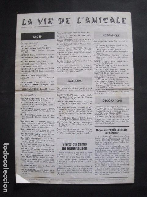Militaria: MAUTHAUSEN - REVISTA DEPORTADOS E INTERNADOS POLITICOS - NUM. 184 - AÑO 1977 - VER FOTOS-(V- 10.940) - Foto 7 - 86157848