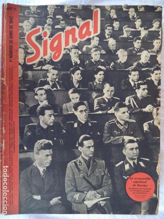 SIGNAL.Nº 1 DE JUNIO DE 1942 (Militar - Revistas y Periódicos Militares)
