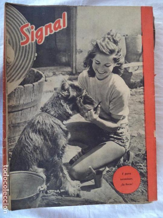 Militaria: SIGNAL.Nº 1 DE JUNIO DE 1942 - Foto 2 - 86910740