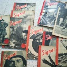 Militaria: SIGNAL 20 REVISTAS 1941_1944. Lote 87240724