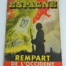 Militaria: REVISTA PLENA GUERRA CIVIL, ESPAGNE, REMPART DE L'OCCIDENT, JUILLET 1937, DICTADURA PRIMO DE RIVERA,. Lote 87420212