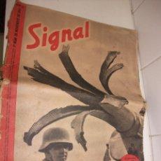 Militaria: REVISTA SIGNAL NOVIEMBRE DEL 1941. Lote 87467308