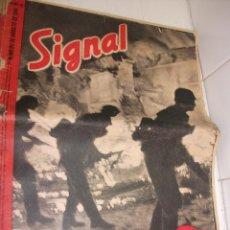 Militaria: REVISTA SIGNAL AGOSTO DEL 1941. Lote 87467356