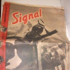 Militaria: REVISTA SIGNAL MAYO DEL 1942 . Lote 87467392