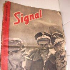 Militaria: REVISTA SIGNAL JULIO DEL 1942. Lote 87467416