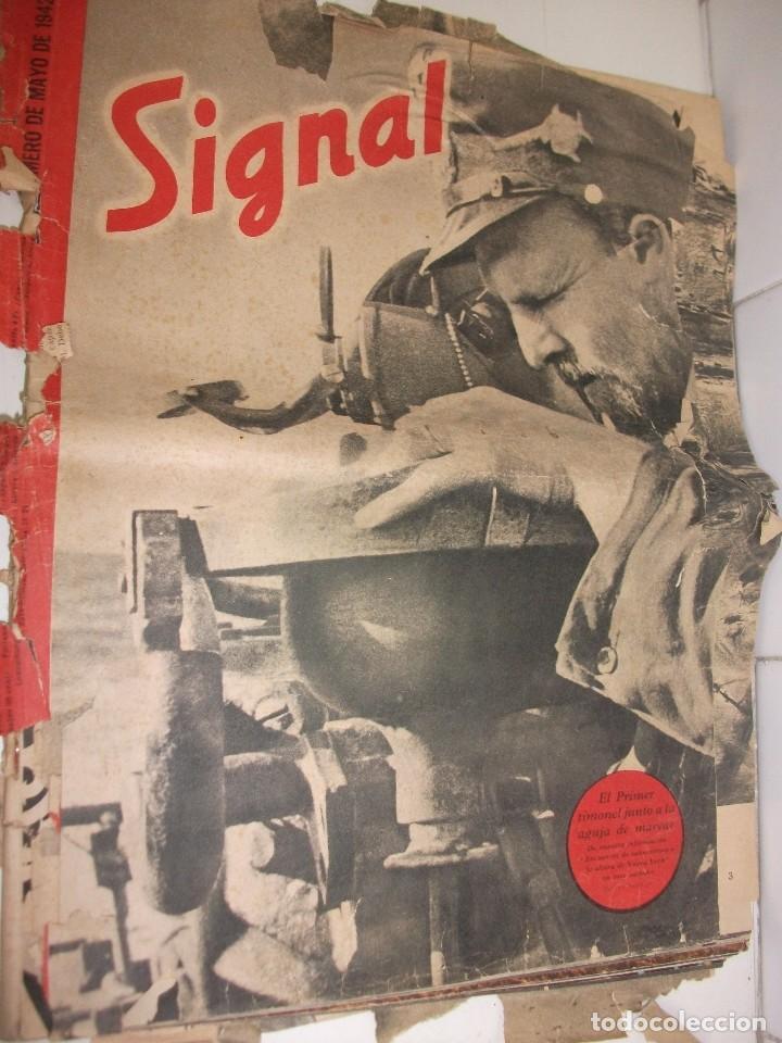 REVISTA SIGNAL MAYO DE 1942 (Militar - Revistas y Periódicos Militares)