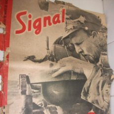Militaria: REVISTA SIGNAL MAYO DE 1942. Lote 87467508