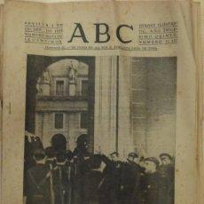 Militaria: ABC 2 DE DICIEMBRE DE 1939 SEVILLA,16 PAGINAS, PORTADA EL CADAVER DE JOSE ANTONIO EN EL ESCORIAL. Lote 88351836