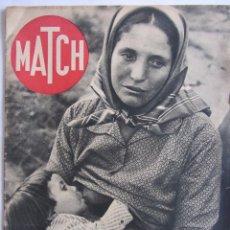 Militaria: MATCH Nº 30 26 ENERO 1939. GUERRA CIVIL ESPAÑOLA. BOMBARDEO Y OFENSIVA NACIONALISTA BARCELONA, ETC... Lote 89050596
