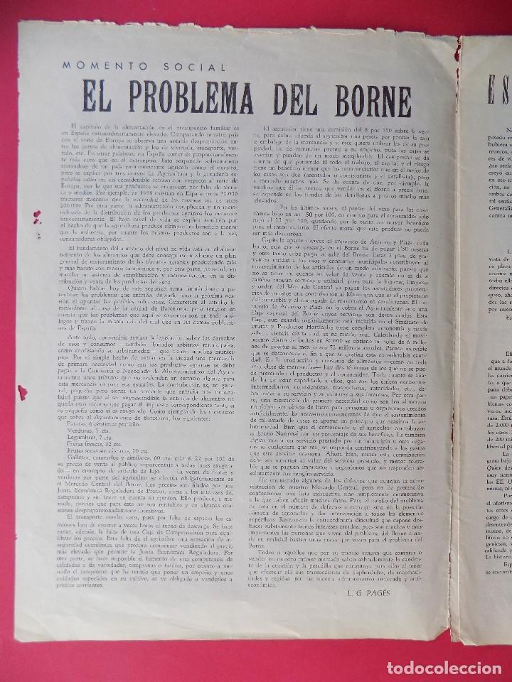 Militaria: PERIODICO EL REQUETE - Nº 1, EPOCA 2ª, OCTUBRE 1959 -BARCELONA - ORGANO OFICIAL DE REQUETES.. R-6303 - Foto 2 - 89241392