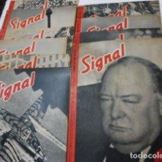 Militaria: II GUERRA MUNDIAL LOTE COLECCION REVISTA SIGNAL AÑO 1943 PERFECTO ESTADO Y COMPLETAS. Lote 89440068