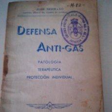 Militaria: DEFENSA ANTI GAS 1936. Lote 89762110