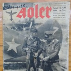 Militaria: REVISTA DER ADLER - Nº 22 - 4 NOVIEMBRE 1941. Lote 80387557