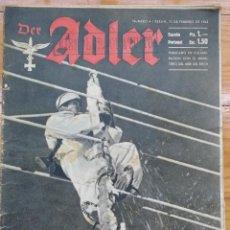 Militaria: REVISTA DER ADLER - Nº 4 - 23 FEBRERO 1943. Lote 80516601