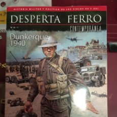 Militaria: DESPERTA FERRO CONTEMPORÁNEA N.22 DUNKERQUE 1940. Lote 91244139