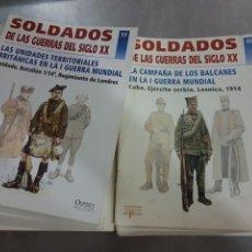 Militaria: SOLDADOS DE LAS GUERRAS DEL SIGLO XX DEL 1 AL 85 FALTA 12Y13. Lote 91586228