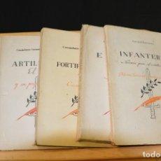Militaria: REGLAMENTOS 1942. EDICIONES EJERCITO. 5 TOMOS. EJERCITO ESPAÑOL NACIONAL FRANCO.. Lote 93007135