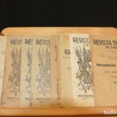 Militaria: REPUBLICA GUARDIA CIVIL REVISTA TECNICA Y MANUAL 1910. Lote 93008785