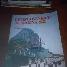 Militaria: REVISTA GENERAL DE MARINA. OCTUBRE 2005, B9R. Lote 93180785