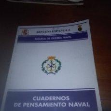 Militaria: CUADERNOS DE PENSAMIENTO NAVAL. NÚM.- 11. B9R. Lote 93181015