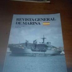 Militaria: REVISTA GENERAL DE MARINA. MARZO 2012. B9R. Lote 93181145