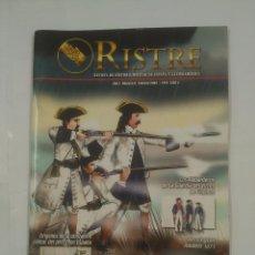 Militaria: RISTRE. REVISTA DE HISTORIA MILITAR DE ESPAÑA Y LATINOAMERICA. Nº 0. AÑO I ALABARDEROS. TDKR60. Lote 93249615