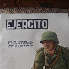 Militaria: EJERCITO. REVISTA ILUSTRADA DE LAS ARMAS Y SERVICIOS MINISTERIO DEL EJERCITO. OCTUBRE 1957. Lote 93342425