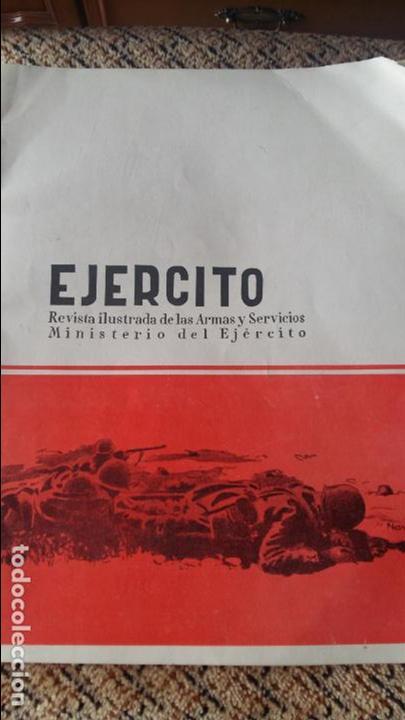 EJERCITO. REVISTA ILUSTRADA DE LAS ARMAS Y SERVICIOS MINISTERIO DEL EJERCITO. SEPTIEMBRE 1957 (Militar - Revistas y Periódicos Militares)