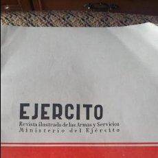 Militaria: EJERCITO. REVISTA ILUSTRADA DE LAS ARMAS Y SERVICIOS MINISTERIO DEL EJERCITO. SEPTIEMBRE 1957. Lote 93342485