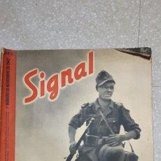 Militaria: REVISTA NAZI AÑO 1942 SIGNAL EN ESPAÑOL. Lote 93595037