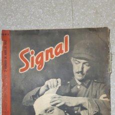 Militaria: REVISTA SIGNAL ABRIL 1942. Lote 93595745