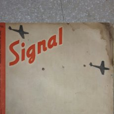 Militaria: REVISTA GUERRA NAZI 1942 SIGNAL. Lote 93597200