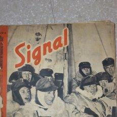 Militaria: REVISTA AÑO 1942 TEMATICA NAZI SIGNAL. Lote 93597954