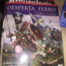 Militaria: DESPERTA FERRO MODERNA Nº29 LA REBELIÓN JACOBITA. Lote 171194722
