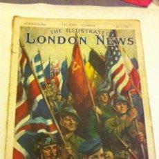 Militaria: 2ª GUERRA MUNDIAL - Nº. DE LA VICTORIA - LONDON NEWS (MAY.12-1945) - EJEMPLAR RARÍSIMO. Lote 93842510