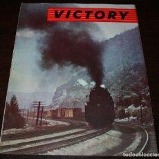 Militaria: REVISTA VICTORY - II GUERRA MUNDIAL - VOLUMEN 2 Nº 3 - EN ESPAÑOL. Lote 94421362