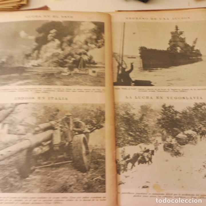 Militaria: Lote 80 revistas Mundo II Guerra Mundial - Foto 6 - 94448790