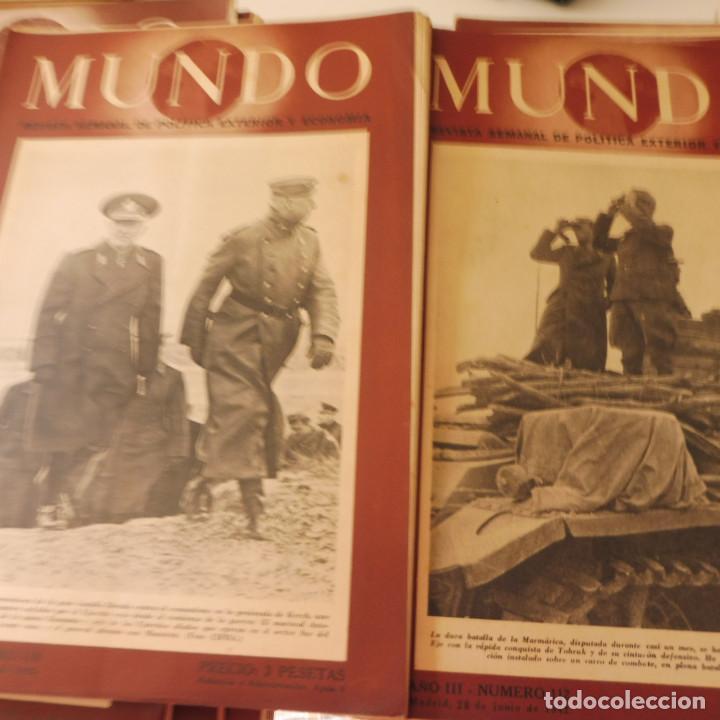 Militaria: Lote 80 revistas Mundo II Guerra Mundial - Foto 7 - 94448790