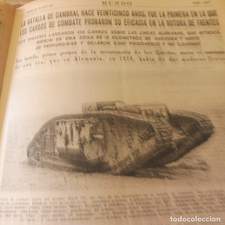 Militaria: Lote 80 revistas Mundo II Guerra Mundial - Foto 8 - 94448790