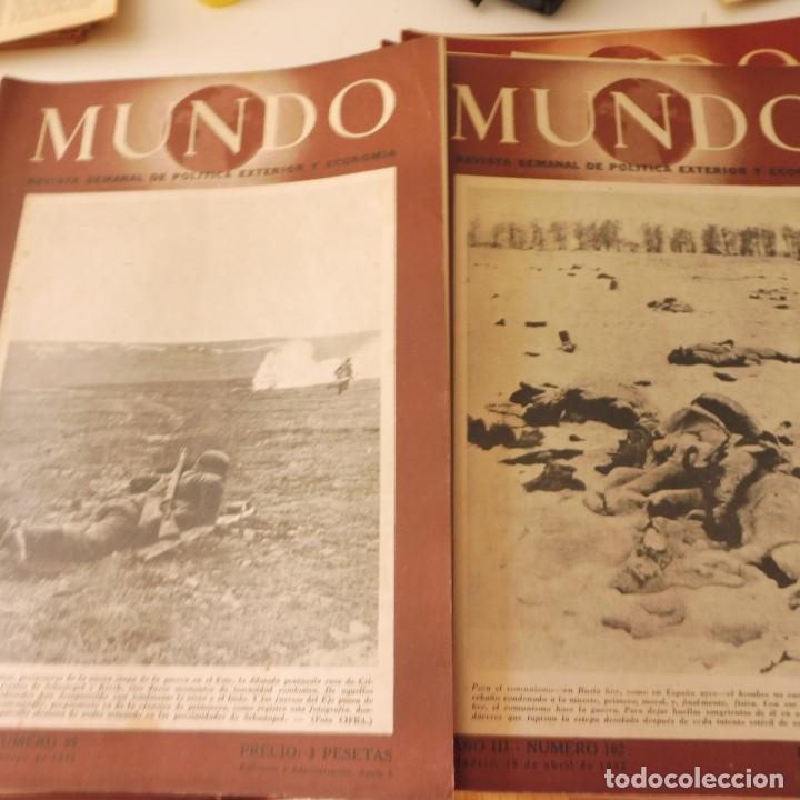 Militaria: Lote 80 revistas Mundo II Guerra Mundial - Foto 10 - 94448790