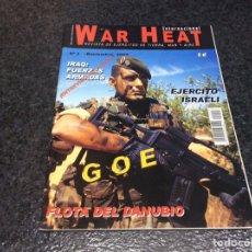 Militaria: WAR HEAT INTERNACIONAL Nº 3 REVISTA DE EJÉRCITOS DE TIERRA, MAR Y AIRE. Lote 95867615