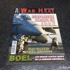 Militaria: WAR HEAT INTERNACIONAL Nº 5 REVISTA DE EJÉRCITOS DE TIERRA, MAR Y AIRE. Lote 95867687