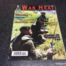 Militaria: WAR HEAT INTERNACIONAL Nº 20 REVISTA DE EJÉRCITOS DE TIERRA, MAR Y AIRE. Lote 95867763