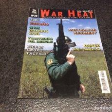 Militaria: WAR HEAT INTERNACIONAL Nº 22 REVISTA DE EJÉRCITOS DE TIERRA, MAR Y AIRE. Lote 95867775